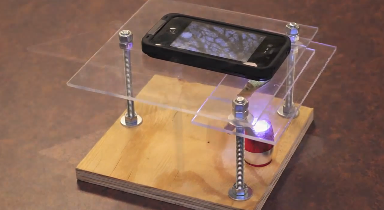 Turning your smartphone in to a microscope